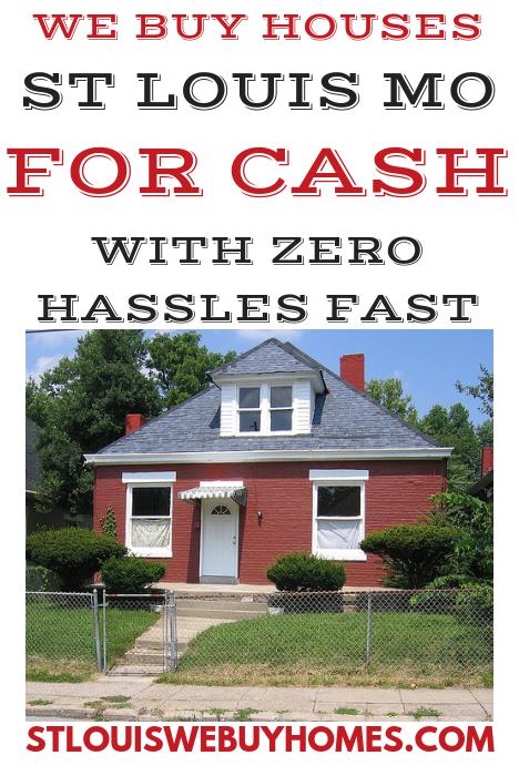 We Buy Houses St Louis MO